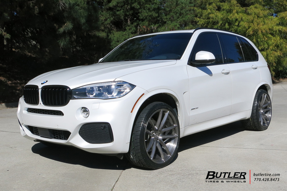 Bmw X5 With 22in Avant Garde F331 Wheels Exclusively From