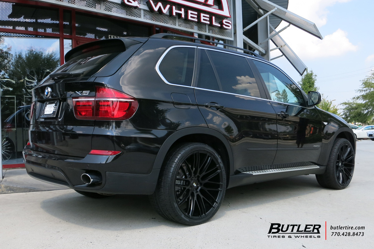 Bmw X5 With 22in Savini Bm13 Wheels Exclusively From