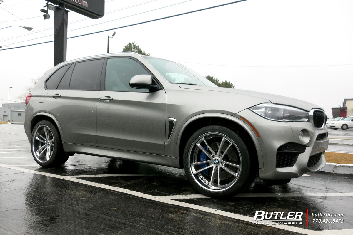 BMW X5 with 22in Savini SV51c Wheels exclusively from Butler Tires