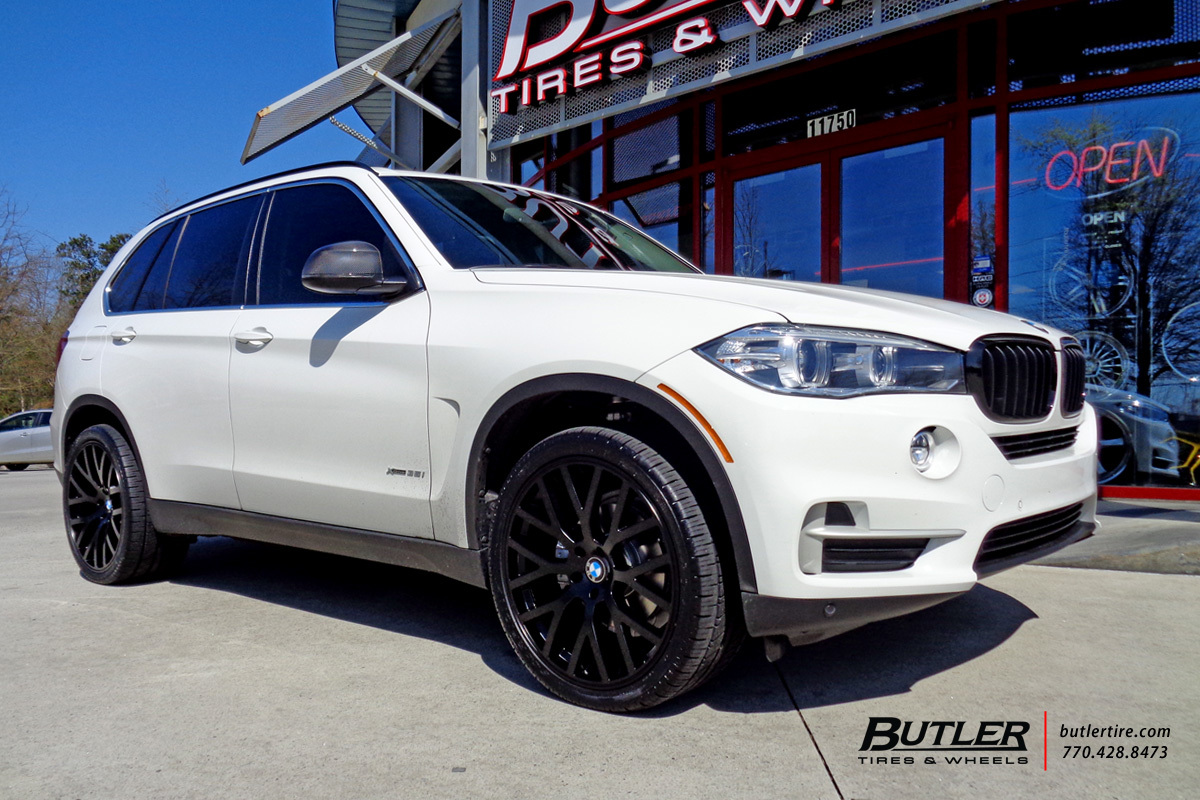 BMW X5 With 22in TSW Donington Wheels Exclusively From