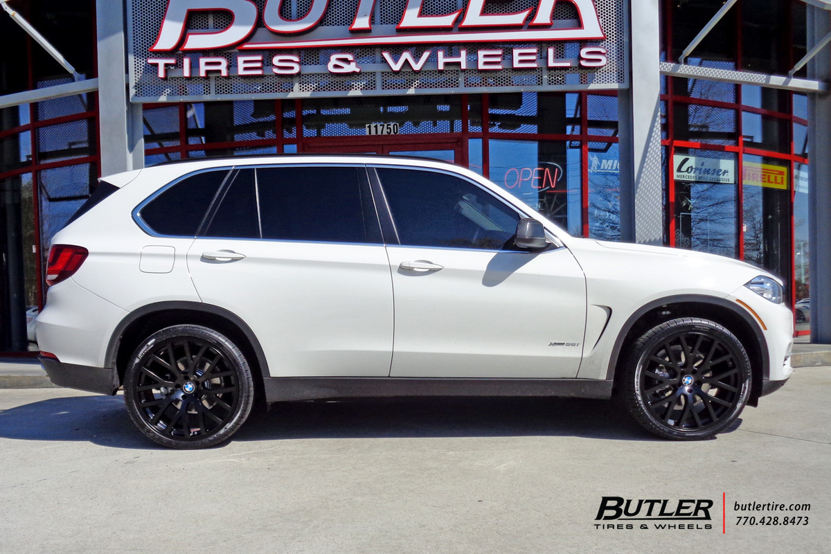 BMW X5 with 22in TSW Donington Wheels