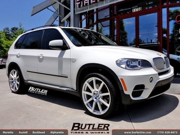 BMW X5 with 22in TSW Interlagos Wheels