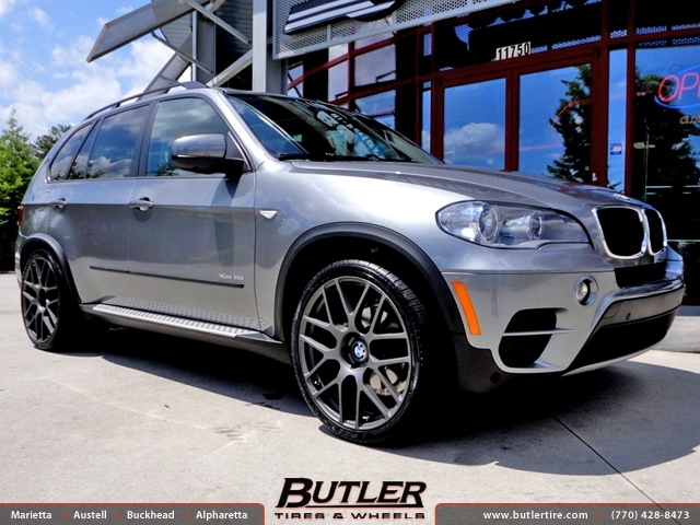 BMW X5 with 22in TSW Nurburgring Wheels exclusively from Butler Tires and Wheels in Atlanta, GA ...