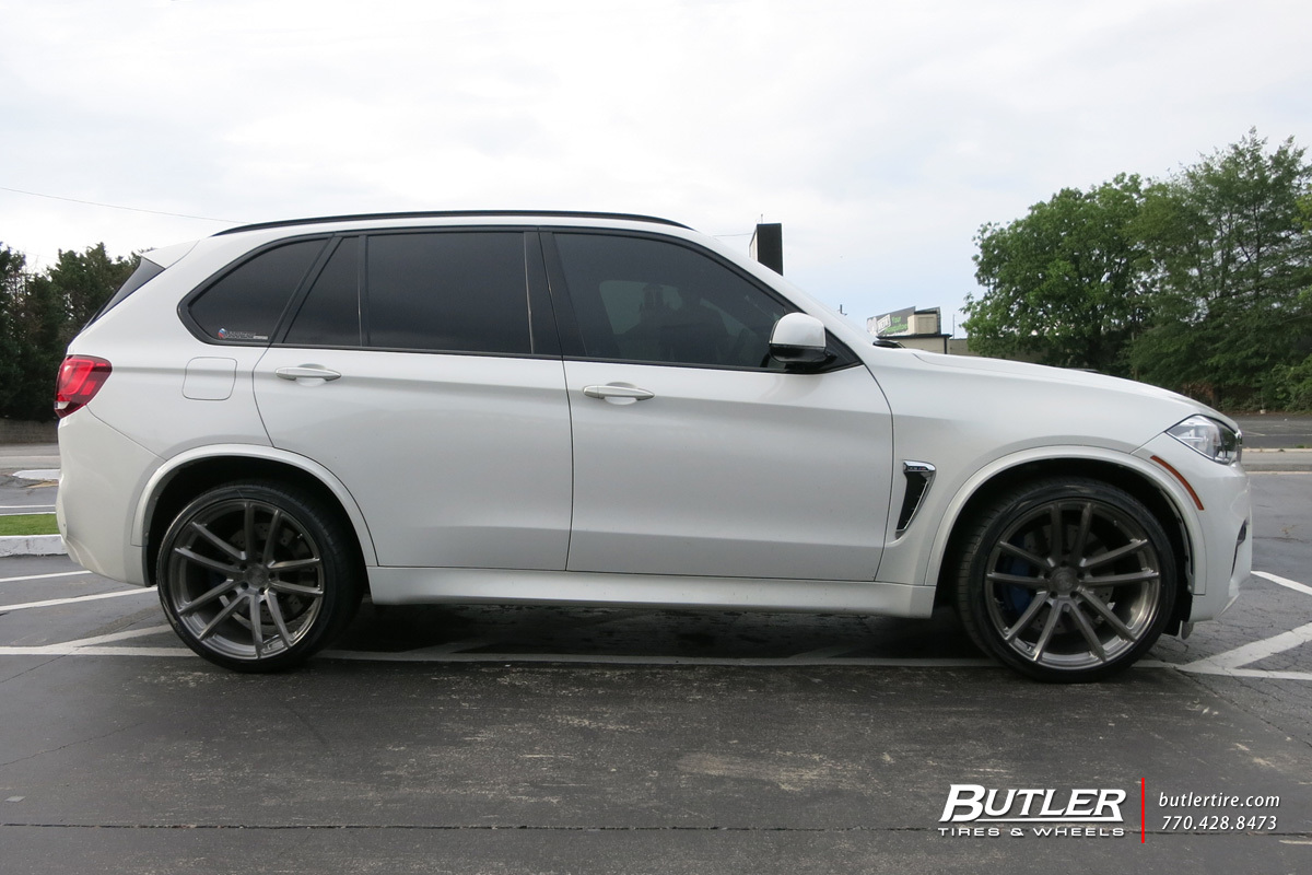 Volvo Of Marietta >> BMW X5M with 22in Avant Garde F331 Wheels exclusively from Butler Tires and Wheels in Atlanta ...