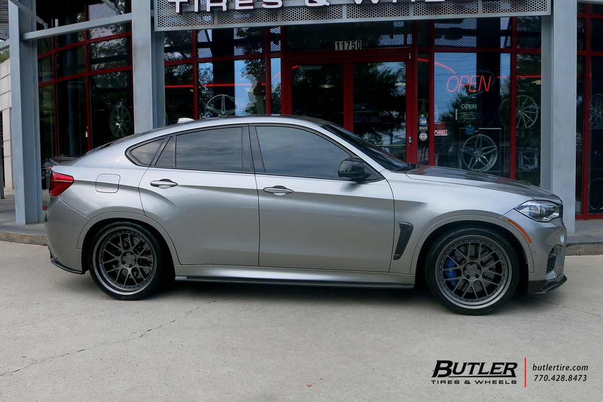 BMW X5M with 22in BC Forged LE72 Wheels