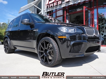 BMW X5M with 22in TSW Interlagos Wheels