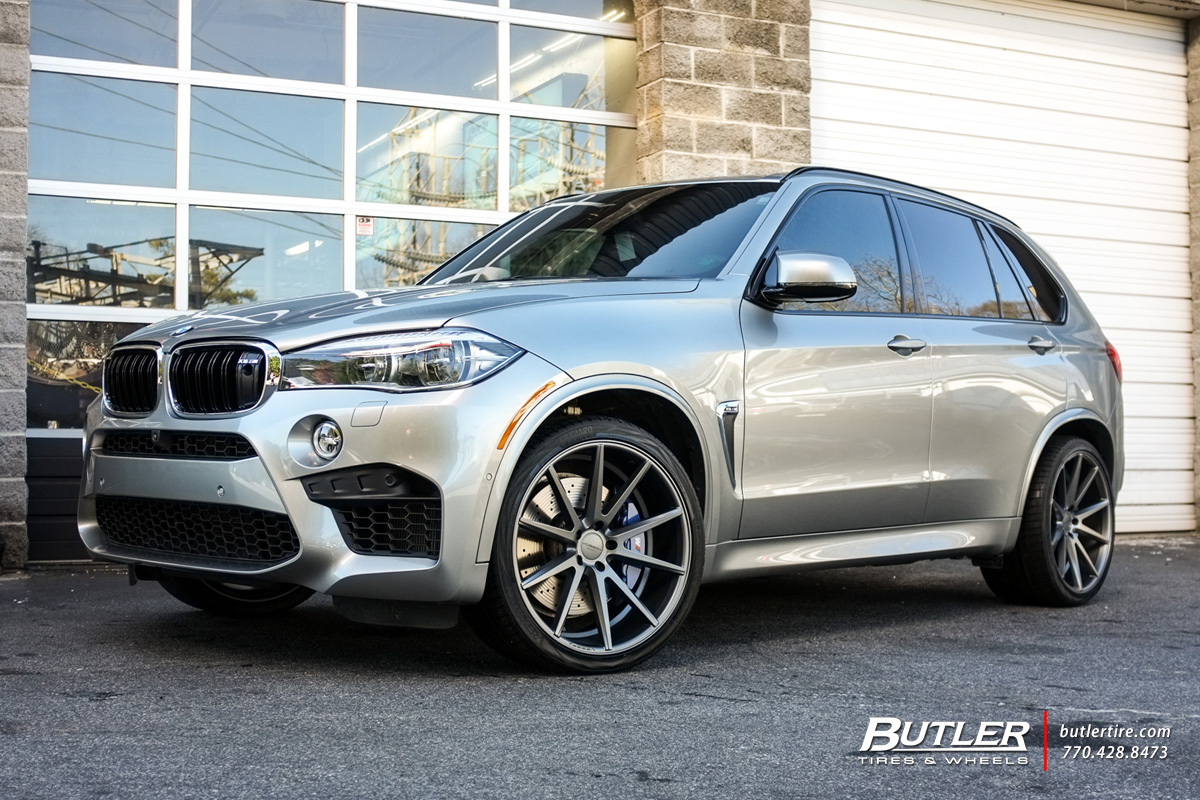 Bmw X5m With 22in Vossen Vfs1 Wheels Exclusively From