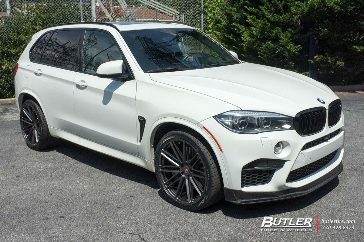 Bmw X5m With 22in Vossen Vps 307 Wheels Exclusively From