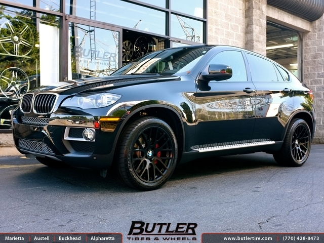 Bmw X6 With 20in Beyern Spartan Wheels Exclusively From Butler Tires