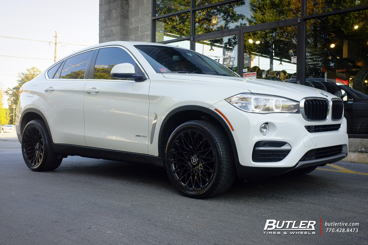 BMW X6 with 20in Lexani CSS16 Wheels