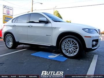 BMW X6 with 20in Lexani CVX 44 Wheels