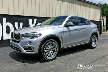 BMW X6 with 20in TSW Monaco Wheels
