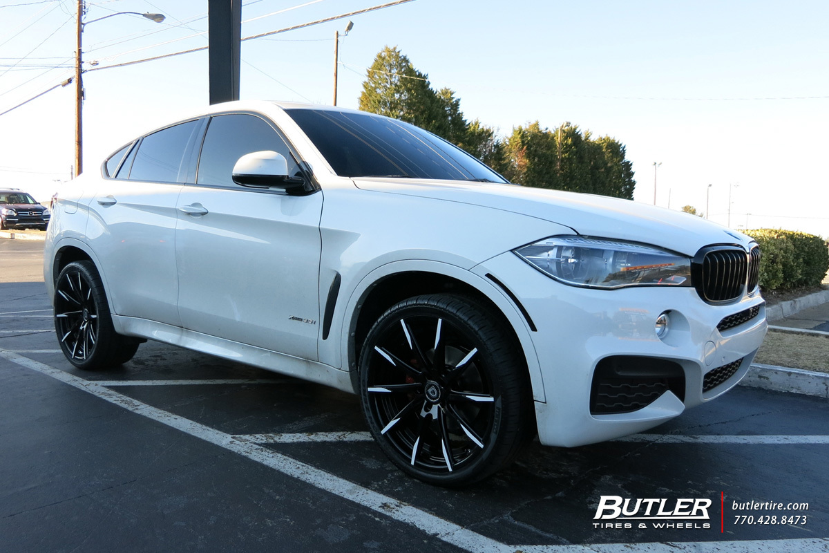 BMW X6 with 22in Lexani CSS15 Wheels exclusively from ...