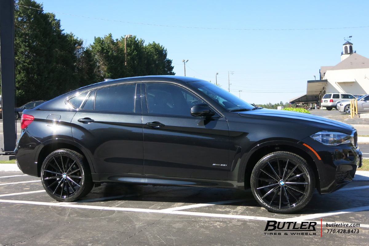 Bmw X6 With 22in Lexani Pegasus Wheels Exclusively From Butler Tires And Wheels In Atlanta Ga