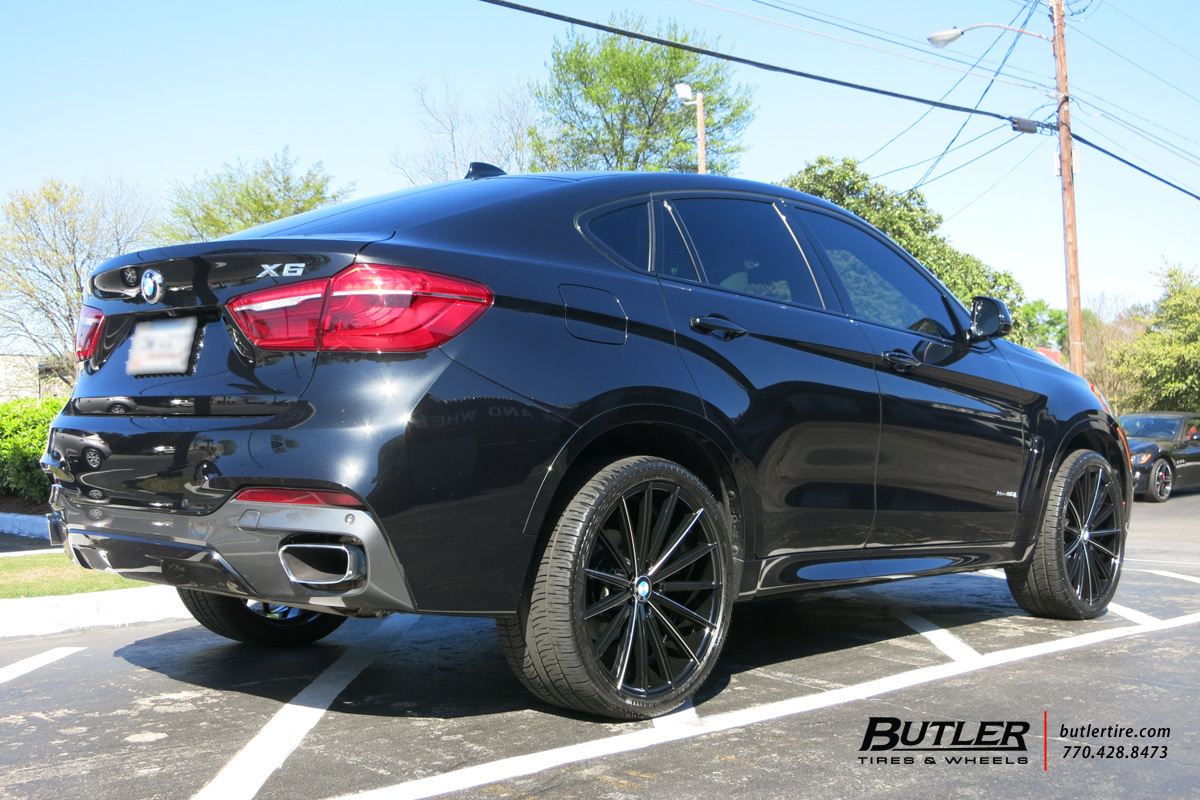 BMW X6 with 22in Lexani Pegasus Wheels