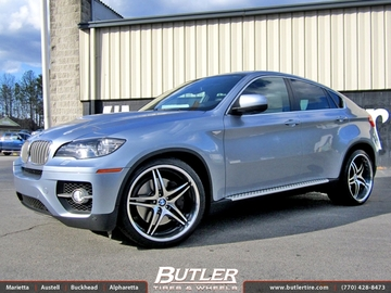 BMW X6 with 22in Niche Sportiva Wheels