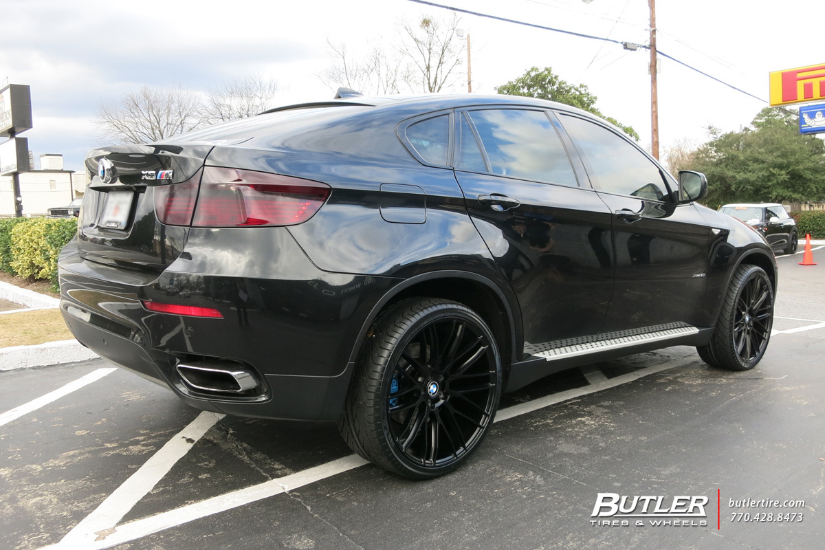 Bmw X6 With 22in Savini Bm13 Wheels Exclusively From