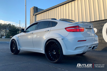 BMW X6 with 26in Forgiato Andata Wheels