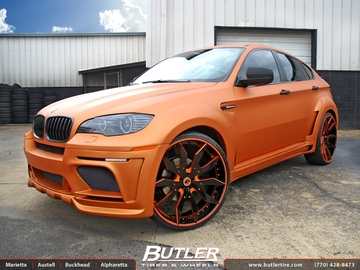 BMW X6 with 26in Forgiato Artigli Wheels