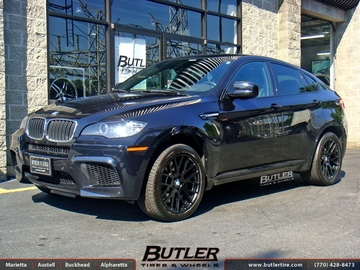 BMW X6M with 20in Beyern Spartan Wheels