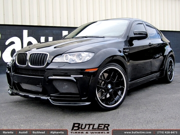 BMW X6M with 22in DUB Type 39 Wheels