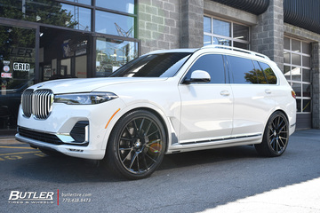 BMW X7 with 24in Avant Garde AGL-Vanquish Wheels
