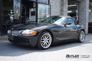 BMW Z4 with 18in Beyern Spartan Wheels