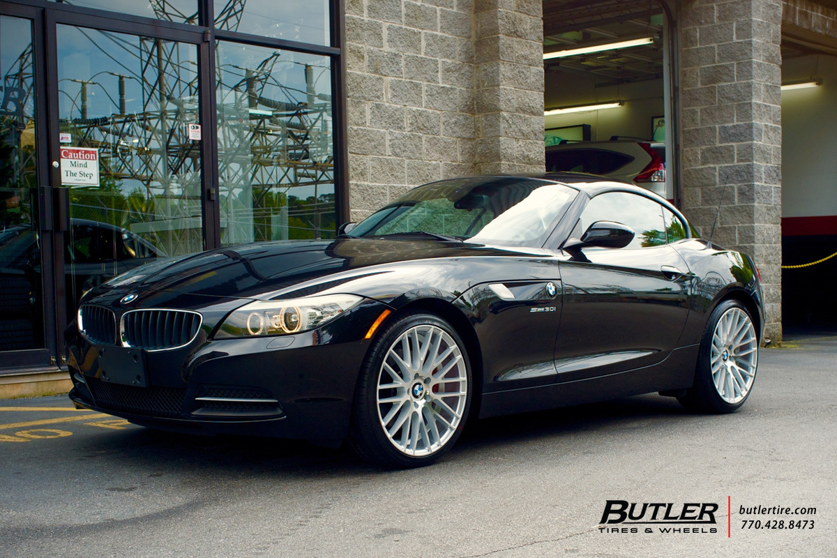 Bmw Z4 With 19in Tsw Parabolica Wheels Exclusively From