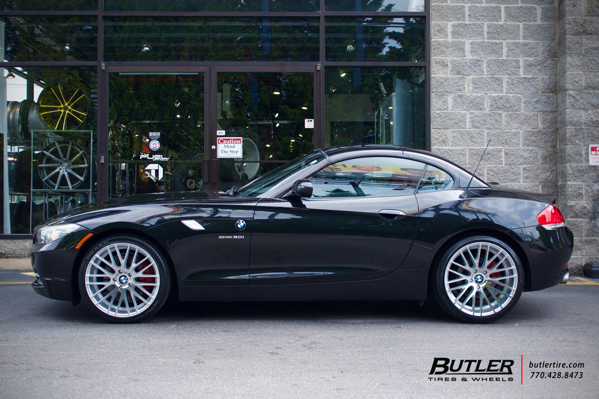 Bmw Z4 Wheel Size Bmw Zin Vossen Vfs6 Wheels Exclusively