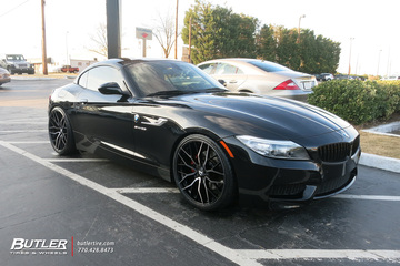 BMW Z4 with 20in Savini SV-F 2 Wheels