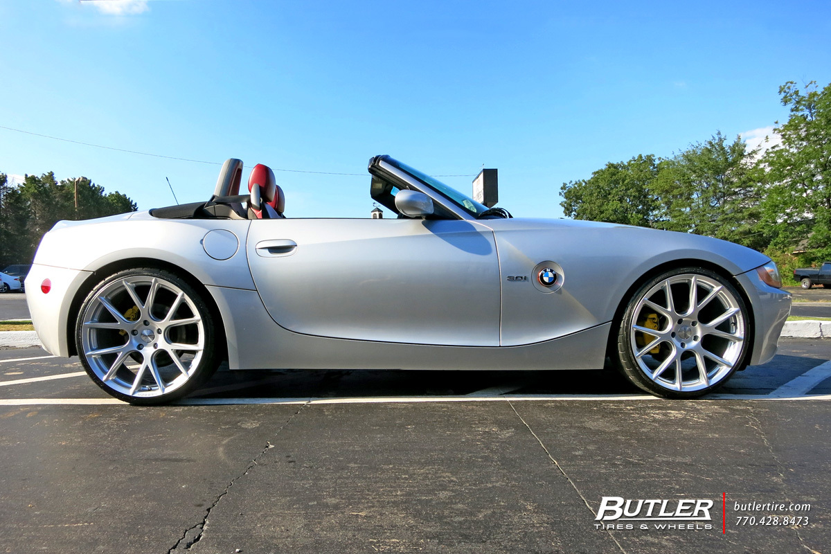 Bmw Z4 With 20in Vossen Vfs6 Wheels Exclusively From Butler Tires And Wheels In Atlanta Ga