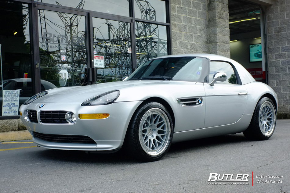 BMW Z8 With 19in HRE Classic 300 Wheels Exclusively From