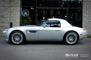 BMW Z8 with 19in HRE Classic 300 Wheels