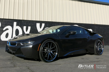 BMW i8 with 22in Asanti ABL4 Wheels
