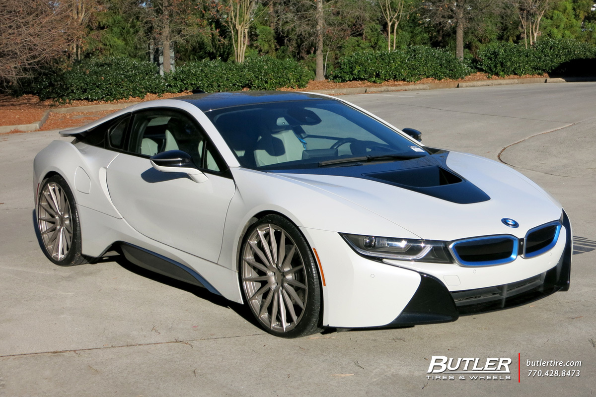 Bmw I8 With 22in Avant Garde M615 Wheels Exclusively From Butler