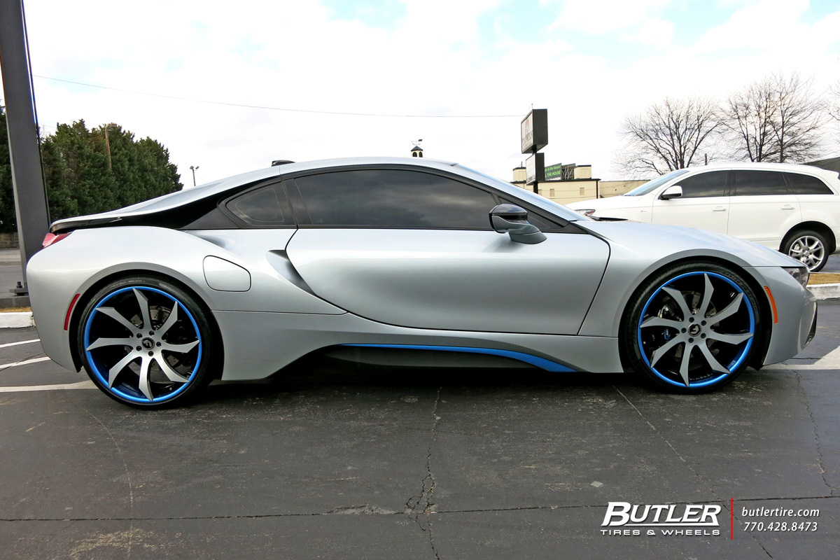 Audi Of Atlanta >> BMW i8 with 22in Forgiato Fondare ECL Wheels exclusively from Butler Tires and Wheels in Atlanta ...