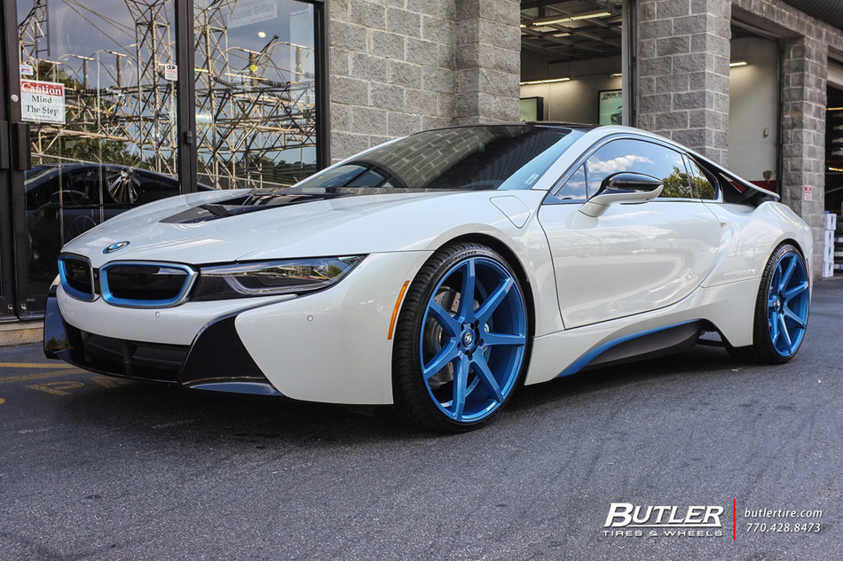 Land Rover Atlanta >> BMW i8 with 22in Savini BM10 Wheels exclusively from ...
