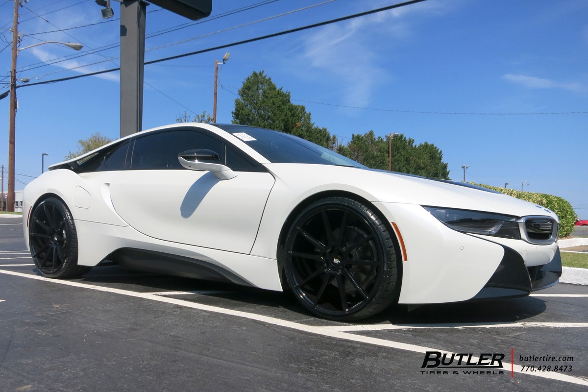 Bmw I8 With 22in Savini Bm12 Wheels Exclusively From Butler Tires