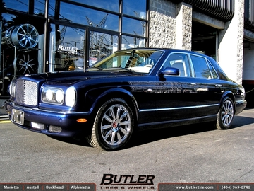 Bentley Arnage with 19in Mint X Wheels