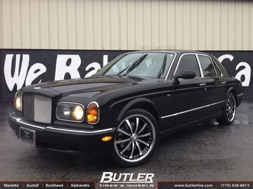 Bentley Azure with 20in Lexani LSS10 Wheels