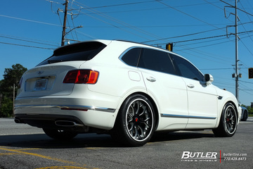 Bentley Bentayga with 22in Forgiato Drea Wheels