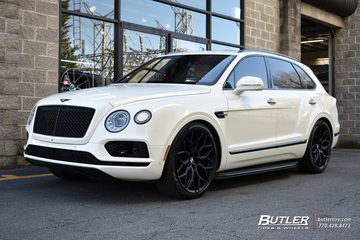 Bentley Bentayga with 24in Vossen HF-2 Wheels