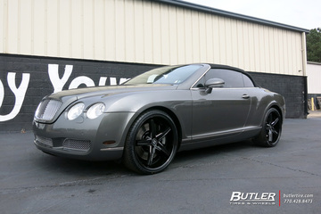 Bentley Continental GT-C with 22in Lexani Fiorano Wheels