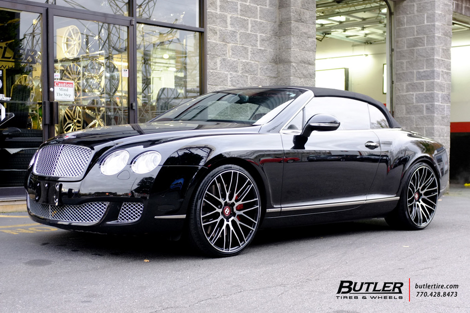 Bentley Continental Gt C With 22in Savini Bm13 Wheels