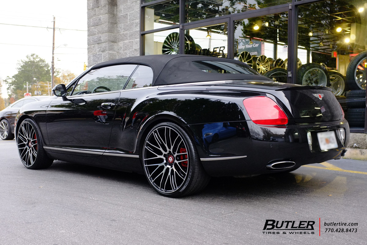 Bentley Continental GT-C with 22in Savini BM13 Wheels