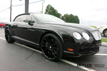 Bentley Continental GT-C with 22in Savini BM9 Wheels