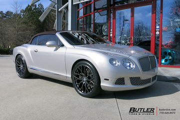Bentley Continental GT-C with 22in Savini SV-F2 Wheels