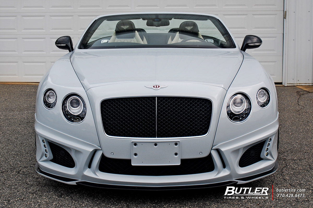 Wald Black Bison Bentley Continental GT-C V8 S with 22in Savini SV58c Wheels