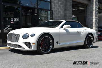 Bentley Continental GT-C with 22in Vossen EVO-5R Wheels
