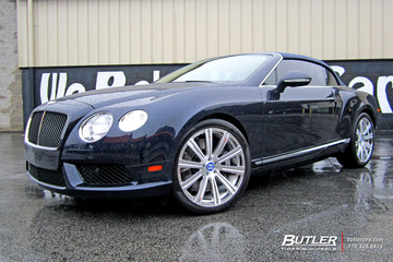 Bentley Continental GT with 21in Avant Garde AGL11 Wheels
